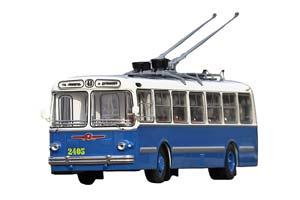 ZIU-5 TROLLEY (USSR RUSSIA) 1960 BLUE/WHITE | ЗИУ-5 ГОРОДСКОЙ