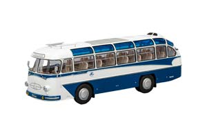 LAZ 697E Турист 1961 White/Blue (ЛАЗ-697Е Бело-Синий Эмблема-Интурист)