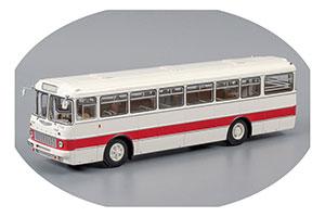 Ikarus 556 1971 White/Red (Икарус-556 Бело-Красный С Номерами И Указателями)
