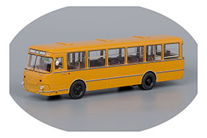 LIAZ 677M 1967-2002 YELLOW/WHITE DOORS (ЛИАЗ 677M ОХРА/БЕЛЫЕ ДВЕРИ)