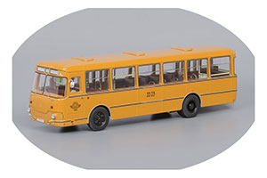 LIAZ 677M 1967-2002 YELLOW (ЛИАЗ 677M 3-Й АВТОБУСНЫЙ ПАРК ОХРА)