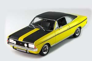 Opel Commodore GS/E 1970 Yellow