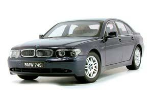 BMW E65 7-SERIES 750/730/735/745 2005 BLUE *БМВ БИМЕР БУМЕР