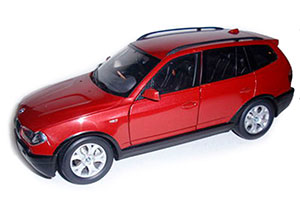 BMW E83 X3 3.0 2005 RED METALLIC *БМВ БИМЕР БУМЕР