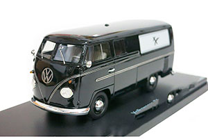 VW VOLKSWAGEN T1 HEARSE LIMITED EDITION 1000 PCS BLACK *ФОЛЬКСВАГЕН ФОЛЬЦВАГЕН