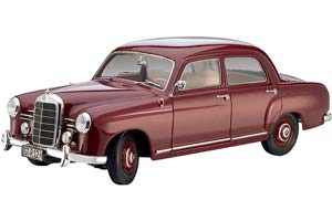 MERCEDES W120 180D PONTON 1953 DARK RED *BENZ BENC МЕРСЕДЕС БЕНС МЕРСИДЕС МЕРСЕДЕЗ БЕНЦ