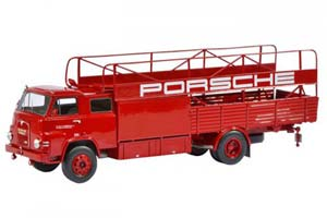 MAN 635 PORSCHE RENNTRANSPORTER 1966 RED