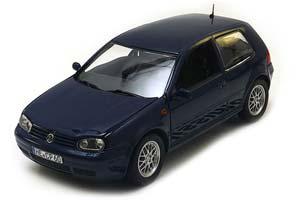 VW Volkswagen Golf 4 (Rabbit) 4 1997 Blue