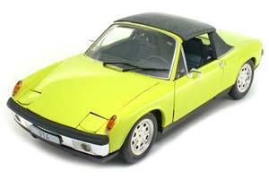 Porsche 914 1972 Yellow