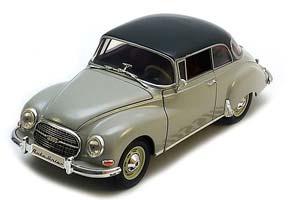 AUTO UNION 1000 S COUPE 1960 SILVER