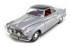 BORGWARD ISABELLA COUPE 1955 GREY/DARK GREY METALLIC