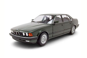 BMW 730I (E32) 1986 GREEN METALLIC