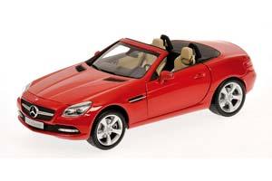 Mercedes R172 SLK 2011 Red
