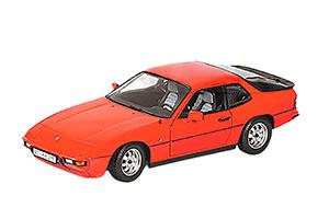PORSCHE 924 1985 RED
