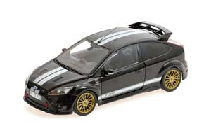 Ford Focus RS Le Mans Classic Edition Ford GT40 MK2 Tribute 2010 Black/White Limited Edition 702 pcs.