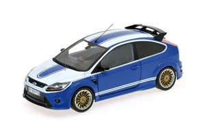 Ford Focus RS Le Mans Classic Edition Ford Capri RS2600 Tribute 2010 Blue/White Limited Edition 702 pcs.