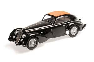 ALFA ROMEO 8C 2900 B LUNGO 1938 BLACK