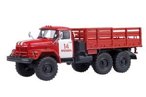ZIL-131 ON-BOARD FIRE IF-14 G. YAROSLAVL (USSR RUSSIAN) | ЗИЛ-131 БОРТОВОЙ ПОЖАРНЫЙ ПЧ-14 Г. ЯРОСЛАВЛЬ *ЗИЛ ЗАВОД ИМЕНИ ЛИХАЧЕВА