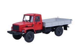GAZ 33081 4x4 (ENGINE D-245.7 DIESEL TURBO) EXHIBITION (USSR RUSSIAN CAR)   ГАЗ 33081 4x4 (ДВИГ. Д-245.7 DIESEL TURBO) ВЫСТАВОЧНЫЙ