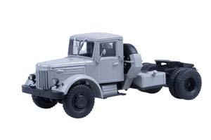 MAZ 200V SADDLE GRAY (USSR RUSSIAN) | МАЗ 200В СЕДЕЛЬНЫЙ ТЯГАЧ СЕРЫЙ *МАЗ