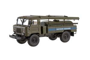 GAZ 66 AC 30 EMERGENCY VODOKANAL (USSR RUSSIAN CAR) | ГАЗ 66 АЦ-30 АВАРИЙНАЯ ВОДОКАНАЛ *ГАЗ ГОРЬКОВСКИЙ АВТОЗАВОД ГОРЬКИЙ