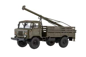 GAZ 66 DRILLING MACHINE BM 302 66 (USSR RUSSIAN CAR) | ГАЗ 66 БУРИЛЬНАЯ МАШИНА БМ-302 66 *ГАЗ ГОРЬКОВСКИЙ АВТОЗАВОД ГОРЬКИЙ