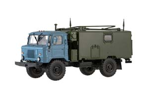 GAZ 66 TEAM STANDING MACHINE KSHM R 142N (USSR RUSSIAN) | ГАЗ 66 КОМАНДНО-ШТАБНАЯ МАШИНА КШМ Р-142Н *ГАЗ ГОРЬКОВСКИЙ АВТОЗАВОД ГОРЬКИЙ