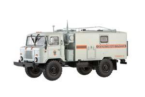 GAZ 66 TEAM-STAFF KSHM R-142N (USSR RUSSIAN) | ГАЗ 66 КОМАНДНО-ШТАБНАЯ МАШИНА КШМ Р-142Н МЧС *ГАЗ ГОРЬКОВСКИЙ АВТОЗАВОД ГОРЬКИЙ
