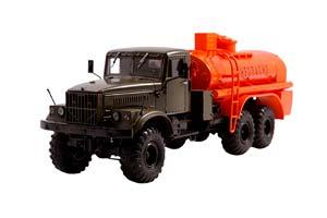 KRAZ 255B PETROL TANK (USSR RUSSIA) | КРАЗ 255Б БЕНЗОВОЗ АЦ-8,5 *КРАЗ КРЕМЕНЧУГСКИЙ АВТОЗАВОД