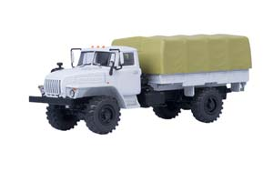 URAL 43206 4x4 ON BOARD WITH TENT (USSR RUSSIAN CAR)   УРАЛ 43206 4x4 БОРТОВОЙ С ТЕНТОМ