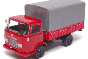 HOTCHKISS DH60 FLATBED TRUCK WITH TENT 1959 RED