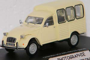 CITROEN 2CV AKS 400 1970 CREAM