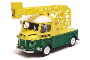 CITROEN TYPE H WITH STAIRS-MAZDA 1965 LIGHT GREEN