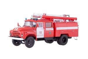 ZIL 130 AC-40 SAINT-PETERSBURG FIRE DEPT (USSR RUSSIAN) | ЗИЛ 130 АЦ-40 САНКТ-ПЕТЕРБУРГ *ЗИЛ ЗАВОД ИМЕНИ ЛИХАЧЕВА