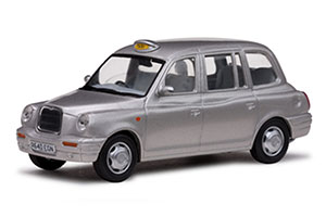 LONDON TAXI CAB TX1 1998 SILVER *ЛОНДОН ТАКСИ