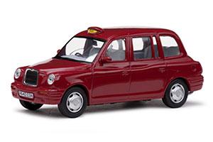 LONDON TAXI CAB TX1 1998 RED *ЛОНДОН ТАКСИ
