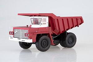 BELAZ-540 EXHIBITION (USSR CAR) 1962 RED/WHITE