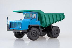 BELAZ-540A GRILL WITH 5 CROSSBARS (USSR CAR) 1967 BLUE/GREEN