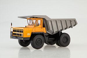 BELAZ-7522 EARLY (USSR CAR) 1985 ORANGE/GRAY