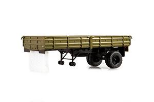 TRAILER MMZ-584B (USSR RUSSIAN CAR)   ПОЛУПРИЦЕП ММЗ-584Б *ТРЕЙЛЕР