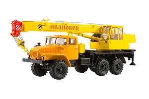 URAL 4320 CRANE KS-3574 (USSR RUSSIA) | УРАЛ 4320 АВТОКРАН КС-3574