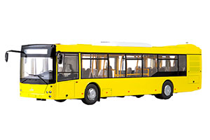 MAZ 203 CITY BUS (RUSSIAN USSR) YELLOW | МАЗ-203 ГОРОДСКОЙ АВТОБУС *МАЗ
