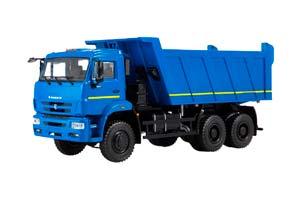 KAMAZ 6522 DUMPER (USSR RUSSIAN) BLUE | КАМАЗ-6522