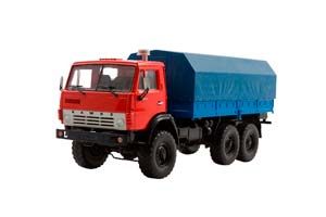 KAMAZ 4310 (USSR RUSSIAN) RED/BLUE | КАМАЗ-4310