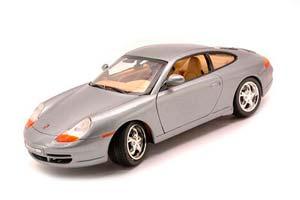 Porsche 996 Coupe 1999 Silver