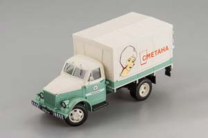 Gorky Automobile Type AF-51 Sour Cream Тип АФ-51 Сметана 1946 Green/Beige