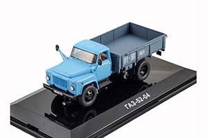 GAZ 52-04 ONBOARD (USSR RUSSIA) 1986 BLUE | ГАЗ 52-04 БОРТОВОЙ *ГАЗ ГОРЬКОВСКИЙ АВТОЗАВОД ГОРЬКИЙ