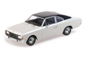 OPEL REKORD C COUPE 1966 WHITE/BLUE *ОПЕЛЬ