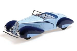 DeLaHaye Type 135 M Cabriolet 1937 Blue