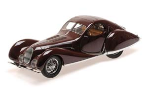 Talbot-Lago T150-C-SS Coupe 1937 Dark Red Limited Edition 1002 pcs.